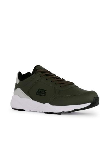 Slazenger Slazenger IKARUS Koşu & Yürüyüş Erkek Ayakkabı Haki Haki